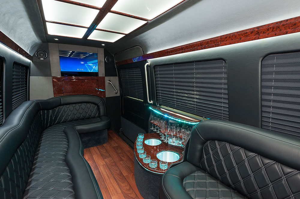 Fort Worth Mercedes Sprinter Limo Rates, Van, Limousine, White, Black Car Service, Wedding, Round Trip, Anniversary, Nightlife, Getaway, Birthday, Brewery Tour, Wine Tasting, Funeral, Memorial, Bachelor, Bachelorette, City Tours, Events, Concerts, Airport, SUV